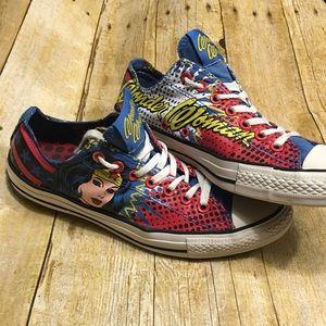 Converse Shoes - Dc Comics X Chuck Taylor Wonder Woman Sneakers 3e24461d8